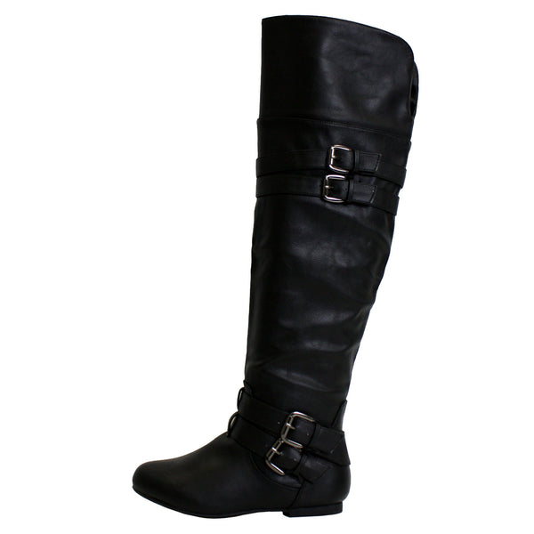Night-79 Thigh High Riding Boots