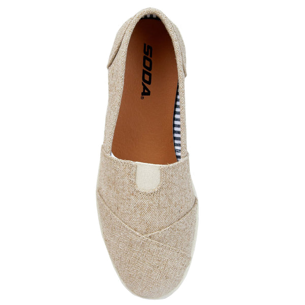 Object Slip On Casual Flat Shoes