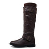 Guilty Heart Womens Osaka Knee High Motorcycle Riding Boots (Previously West Blvd)