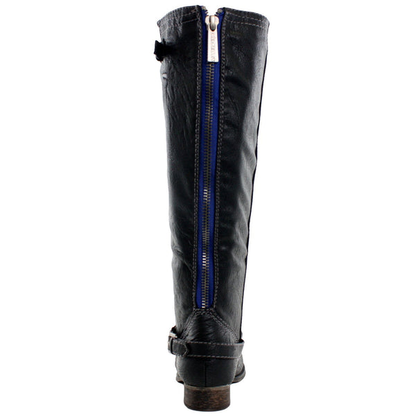Outlaw-11 Equestrian Western Knee High Riding Boots
