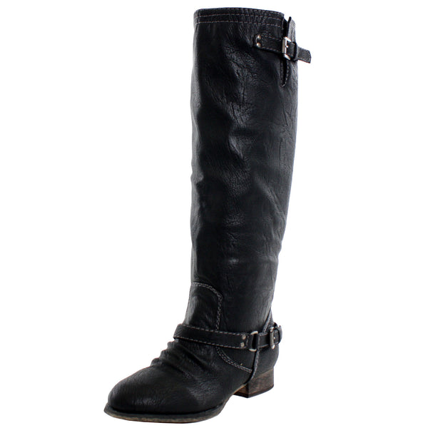 Outlaw-81 Western Riding Knee High Boots