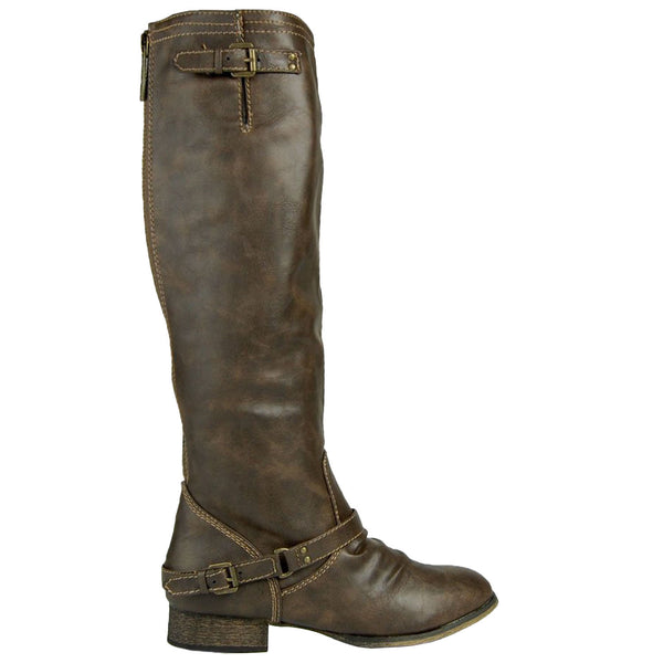 Outlaw-91 Knee High Western Boots