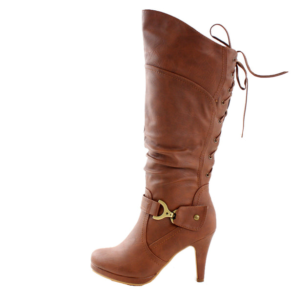 Page-65 Knee High High Heel Boots