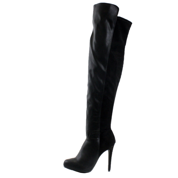Pamela-13 Platform Stiletto High Heel Thigh High Boots