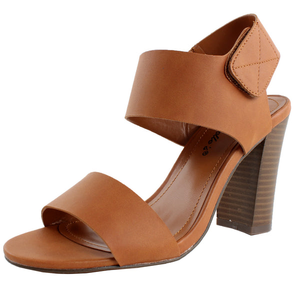 Patia-21 Chunky Heel Open Toe Sandals