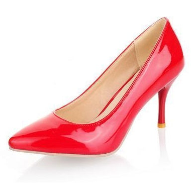 New Fashion high heels women pumps thin heel classic sexy prom stiletto wedding shoes