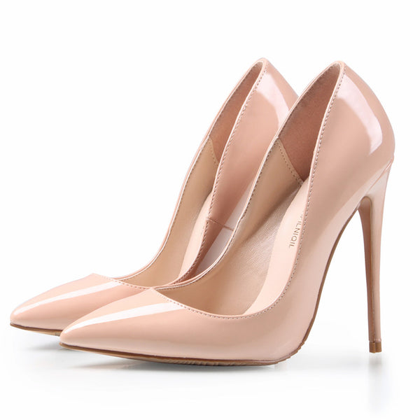 Women's 4 inch High Heels Shoes Woman High Heels Pumps Wedding Shoes Pumps