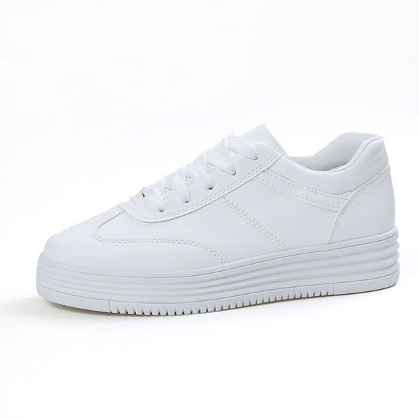 Designer Summer Sneakers Women Causal Shoes White Basket Femme Women Flats Platform Creepers