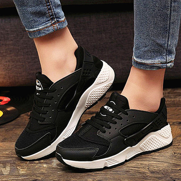 Fashion Trainers Sneakers Women Casual Shoes Air Mesh Girls Wedges Canvas Shoes Woman Tennis