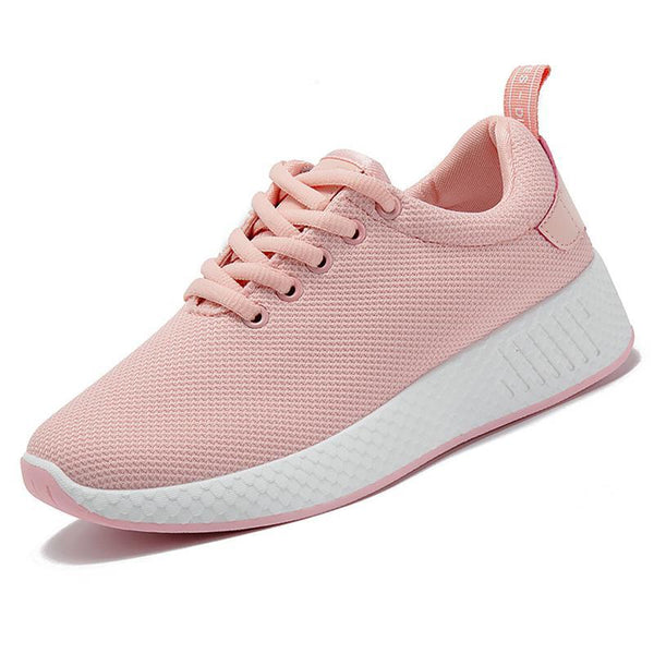 Comfortable women sneakers air mesh spring/autumn shoes solid female shoes