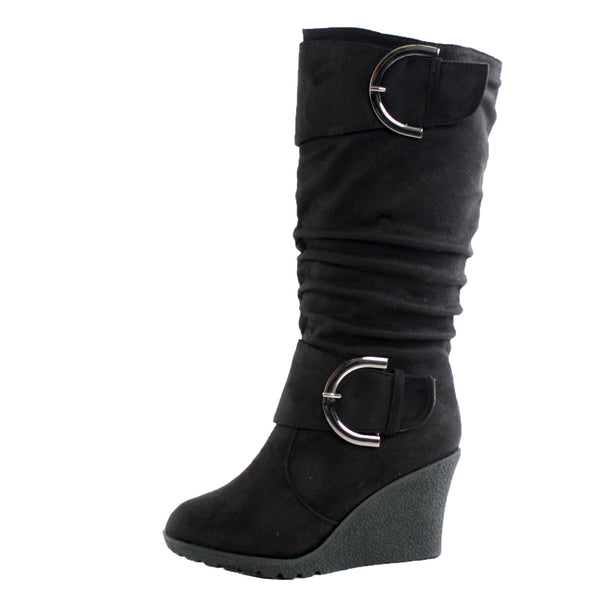 Pure-2 Wedge Mid-Calf Boots