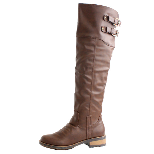 Relax-01X Knee High Riding Equestrian Boots