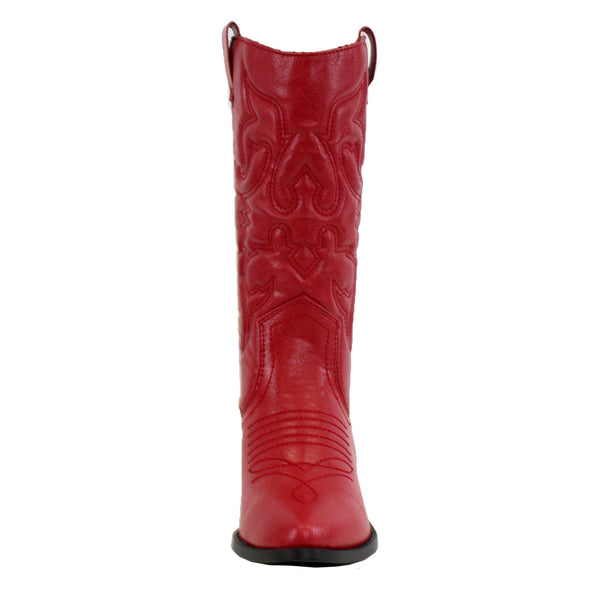 Reno-S Western Mid-Calf Embroidered Boots