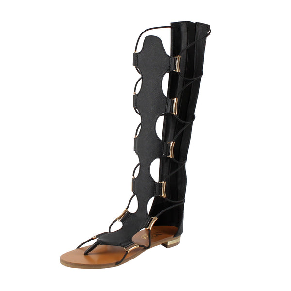Rome Gladiator Midcalf Sandals