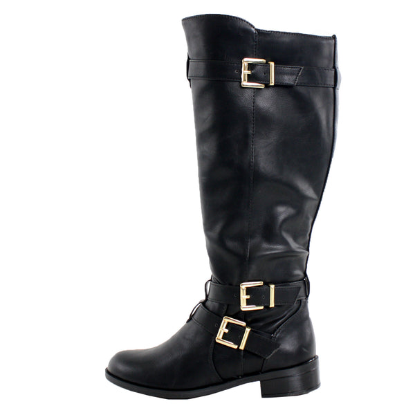 Sake-S Knee High Riding Boots