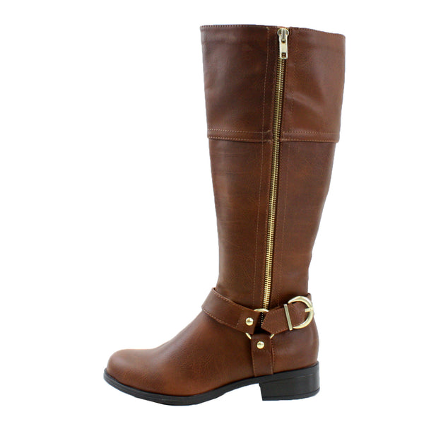 Salsa-H Low Heel Knee High Riding Boots