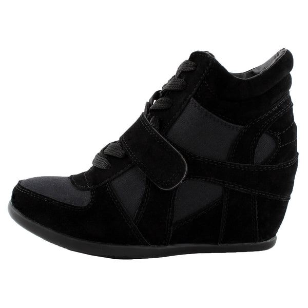 Sammy-6 High Top Wedge Sneakers