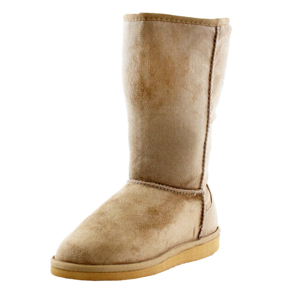 Soong-S Warm Winter Mid-Calf Boots