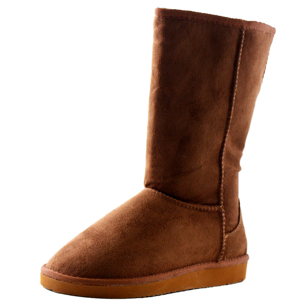 Soong-S Comfortable Mid-Calf Boots