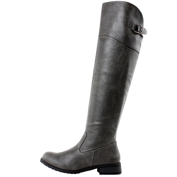 Taipei Thigh High Riding Boots