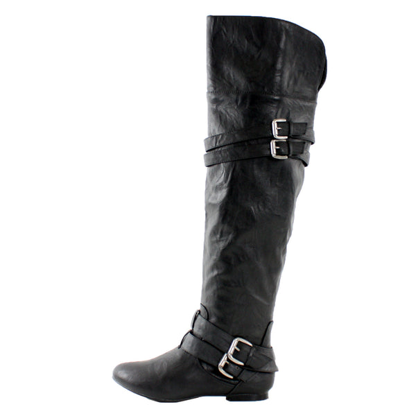 Vickie16h Over the Knee Riding Boots