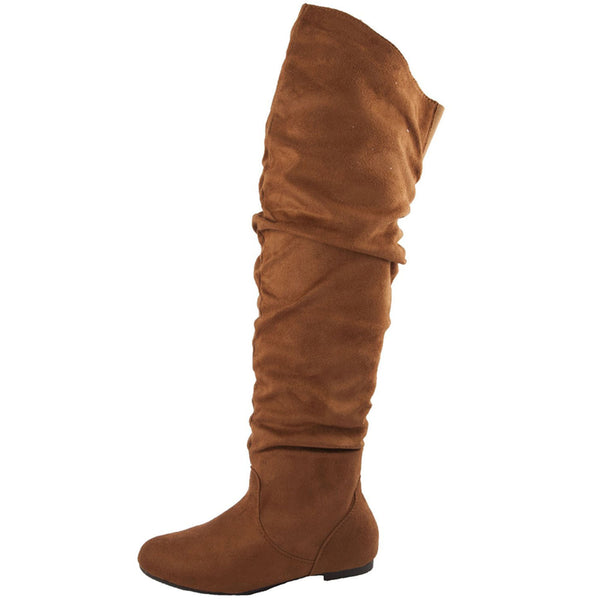 Vickie Hi Casual Flat Knee High Boots