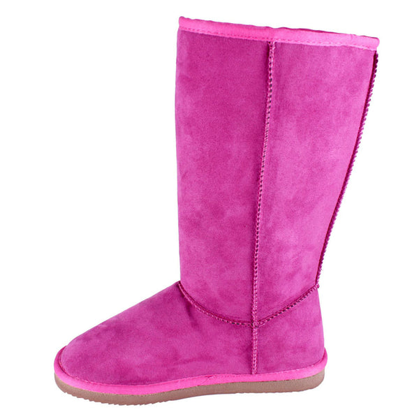 Rose-1 Mid-Calf Faux Fur Lined Boots