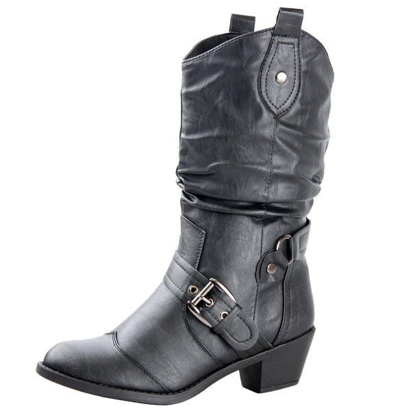Istanbul Cowboy Slouch Western Boots