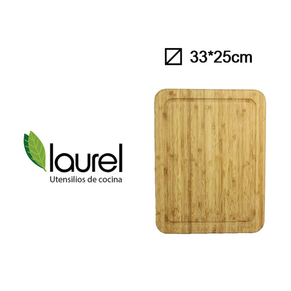 TABLA BAMBOO RECT. STEAK 28x1.5cm #H1855M