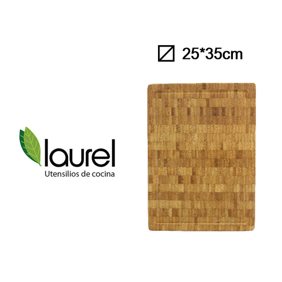 TABLA BAMBOO RECT. STEAK 27x3cm #H1865L