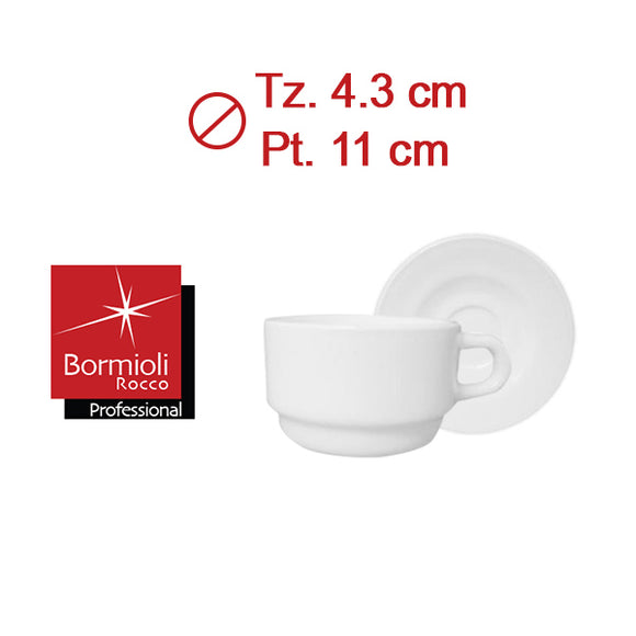 PERFORMA TAZA CAFE 8cl APILABLE C/PLATO