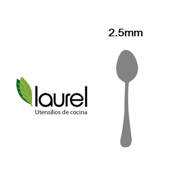 ALLURE CUCHARITA POSTRE  140mm (12 unidades)