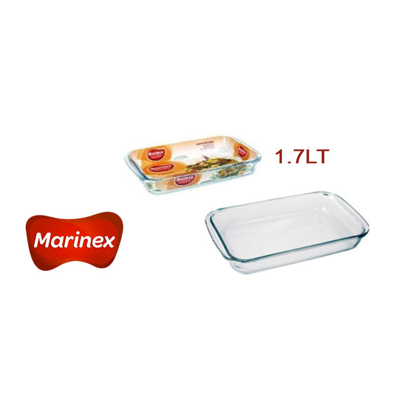 MARINEX ASADERA RECTANGULAR 1.7Lt #6532.01-1