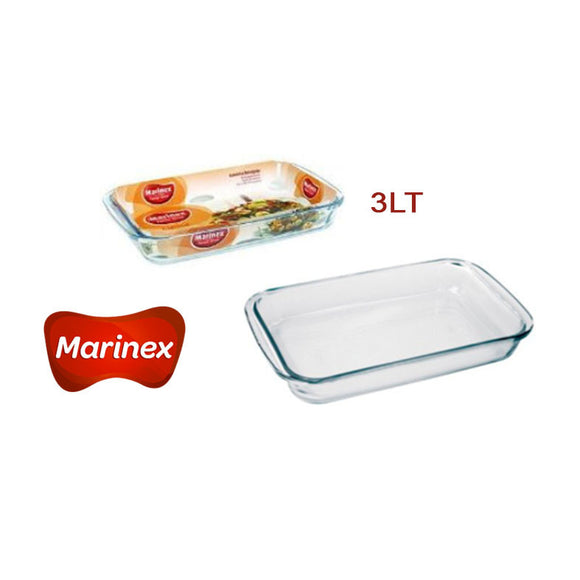 MARINEX ASADERA RECTANGULAR 3Lt #6536.41-7