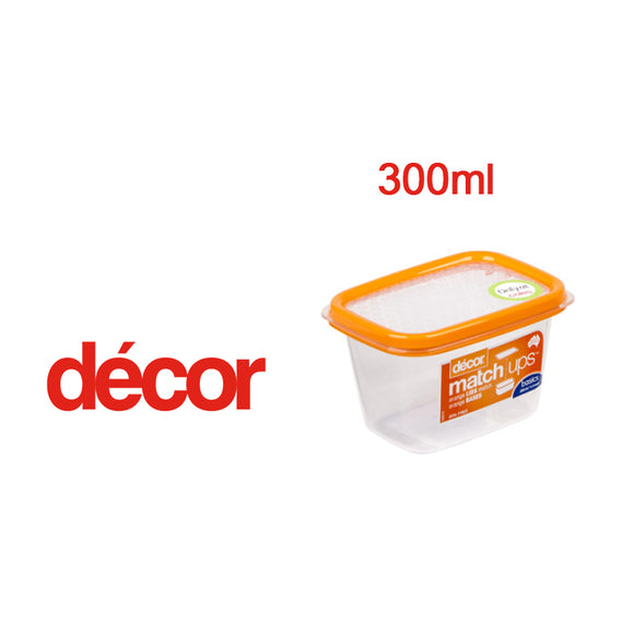 DECOR ENVASE RECT. MATCHUP 300ml  #209800