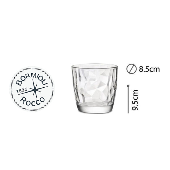 DIAMOND VASO AQUA 10ozs #3.50200