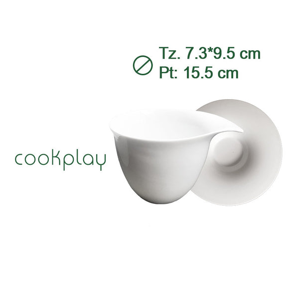 FLY TAZA THE C/PLATO 180cl #13002