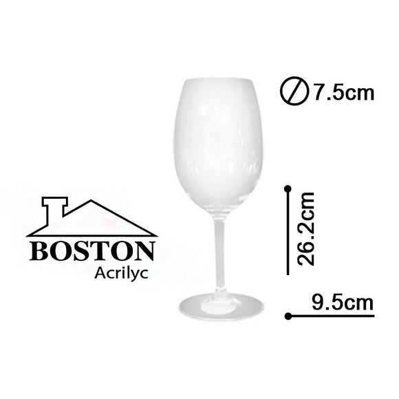 BOSTON ACRYLIC COPA BORDEAUX 25ozs #BBS-075