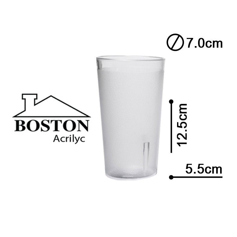 BOSTON ACRYLIC VASOS HB 12ozs #HY-1011