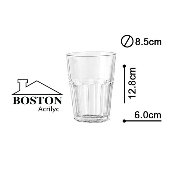 BOSTON ACRYLIC VASO HB  14ozs #HY-0905