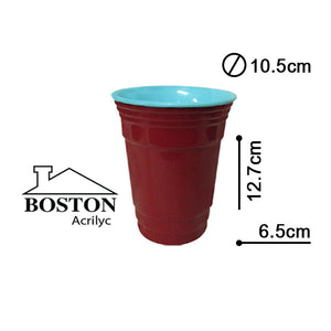 BOSTON ACRYLIC VASO HB 16ozs #ABC-401