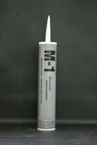 Chemlink M-1 Structural Adhesive / Sealant 10.1 Oz Cartridge Gray Case of 24