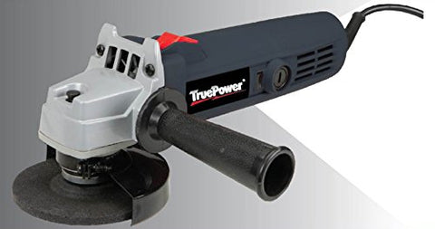 "TruePower 4"" Angle Grinder 11,000 RPM 4.5 Amp 5/8""-11 Spindle Size 4"" Max Wheel Size"