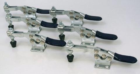 500 lb Horizontal Quick-Release Toggle Clamp - 6 Piece Set