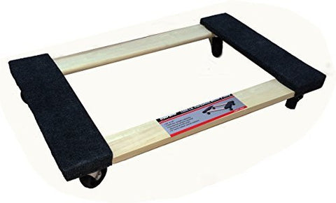 "TruePower Hardwood Carpet End Furniture Dolly / Mover's Dolly - 3"" Casters - 1000 lb. Capacity"