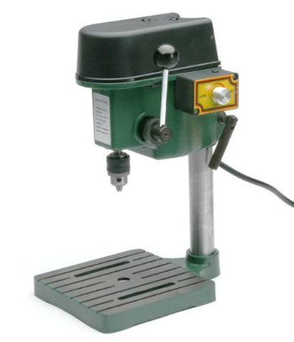 "TruePower 1/4"" Mini Drill Press with 3 Range Variable Speed Control 0-8500 Rpm"