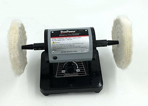 "TruePower 5"" Mini Bench Polishing Machine, Buffer, Polisher."