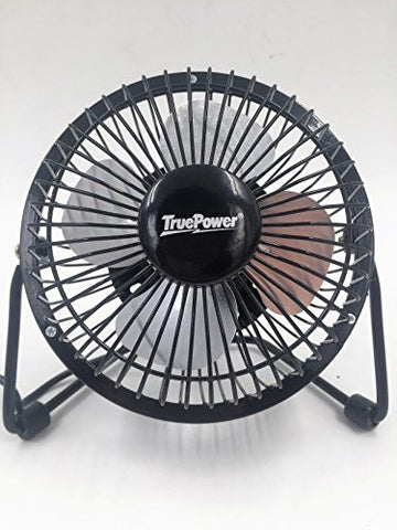 TruePower 50-5073 USB Mini Desk Fan, 4""