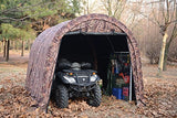 Camoflange ATV Shelter, Mini Portable Garage, 6 Leg Steel Frame 10 x10 x8-Feet