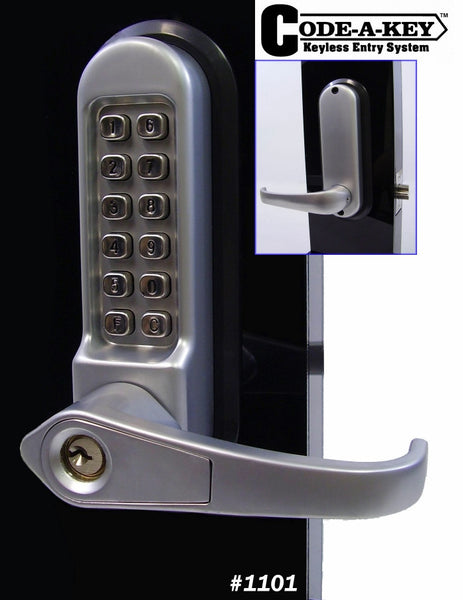All Weather Mechanical Keyless Lever Door Lock Truepower